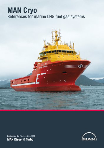 MAN Cryo reference for marine LNG fuel gas systems