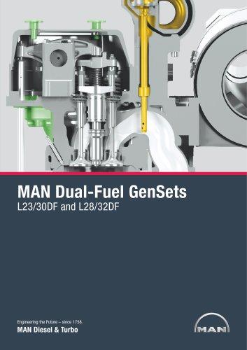 MAN Dual-Fuel GenSets