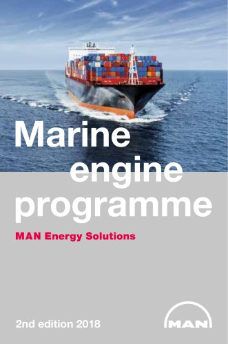 Marine Engine IMO Tier ll and Tier lll Programme 2018