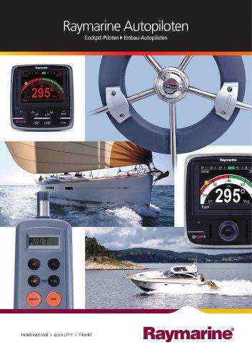 Autopilots - Above Deck Pilots/Inboard Pilots