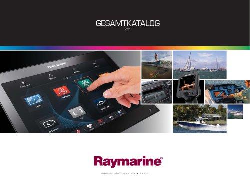 Raymarine Gesamtkatalog 2014