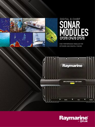 Sonar Brochure (CP370, CP470 & CP570)