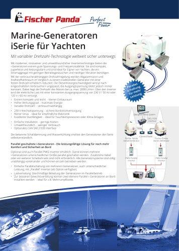Marine-Generatoren iSerie für Yachten