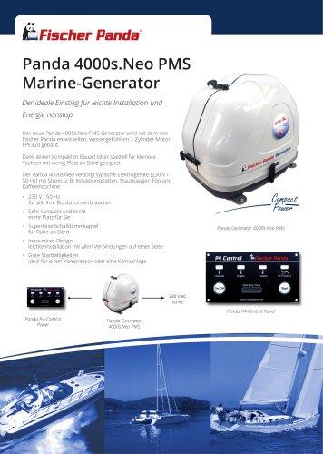 Panda 4000s.Neo PMS Marine-Generator