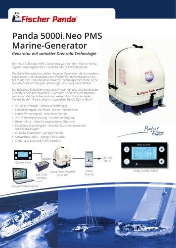Panda 5000i.Neo PMS Marine-Generator