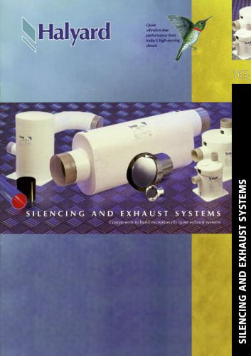 Silencing and exhaust systems