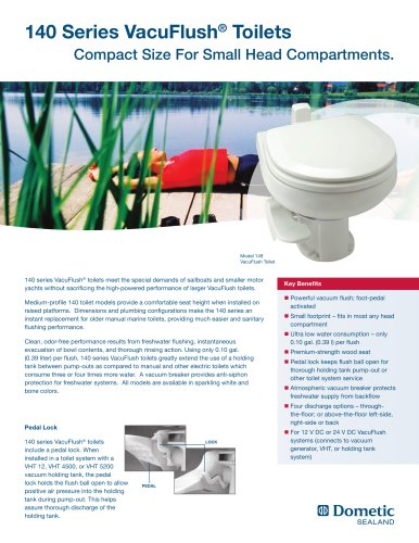 140 Series VacuFlush® Toilets