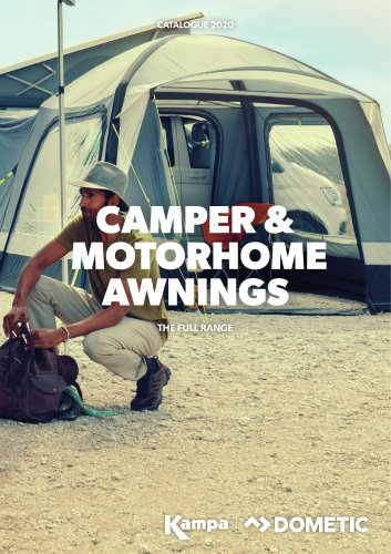 CAMPER &  MOTORHOME AWNINGS