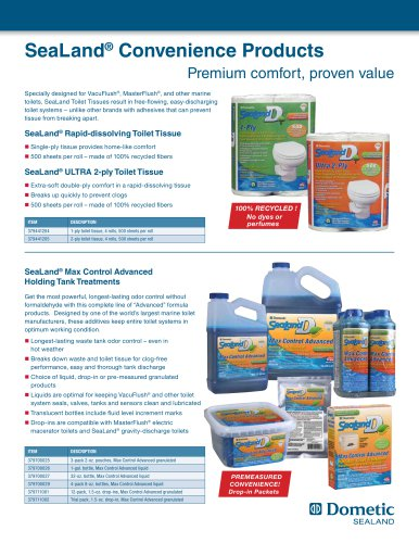 SeaLand ®  Convenience Products
