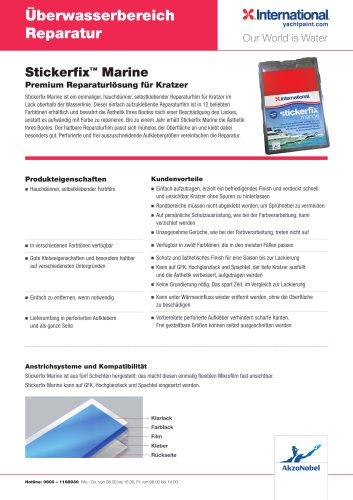 Stickerfix Marine - Premium Reparaturlösung für Kratzer