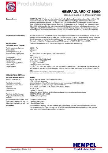 HEMPAGUARD X7 89900