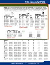 THRU-HULL CONNECTORS CHART
