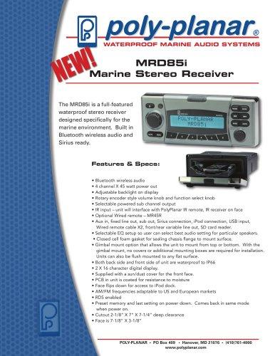 MRD85i Marine Stereo Receiver