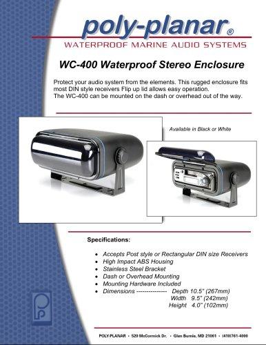 Poly-Planar WC-400 Waterproof Stereo Enclosure