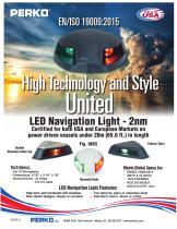 New LED Bi-Color Navigation Light