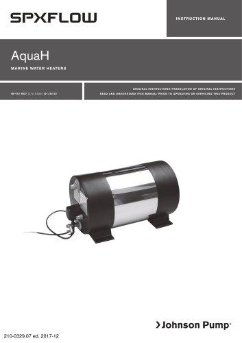 AquaH - marine water heater