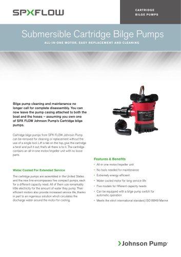 Bilge Pumps - Cartridge 500-1250 GPH