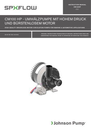 CM100HP High Power manual ‖ DE