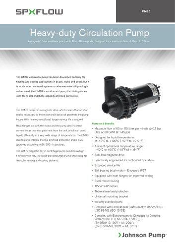 CM90 Circulation Pumps