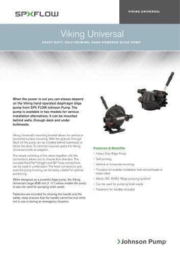 Viking Universal, Marine Bilge Pumps