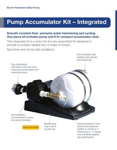 Whale Accumulator Pump and Tank Kit