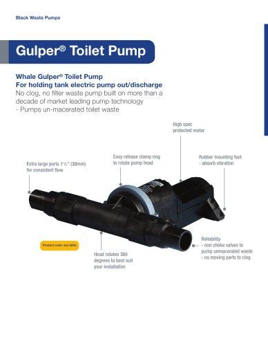 Whale Gulper Toilet Pump
