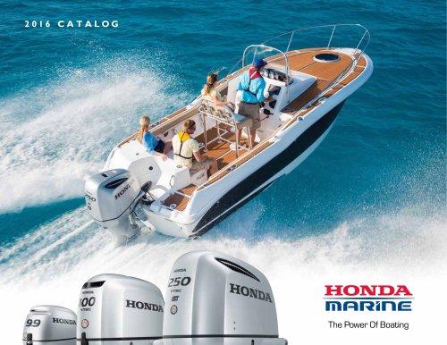 Honda Marine 2016 Brochure