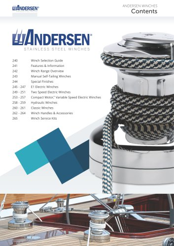 Winch Catalogue 2017