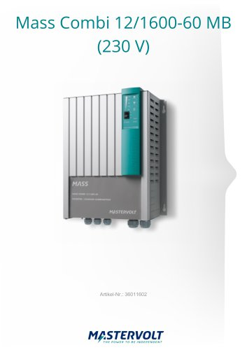 Mass Combi 12/1600-60 MB