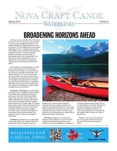 NOVA CRAFT CANOE Catalogue_2013