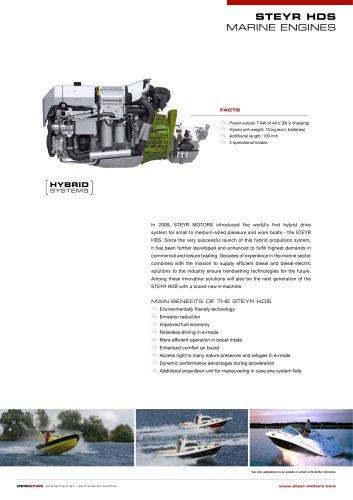 STEYR HDS product leaflet