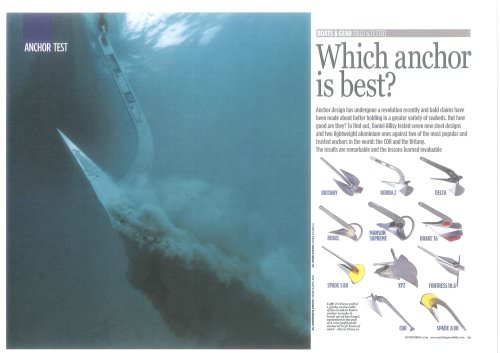 Yachting Monthly -Anchor Test Nov09