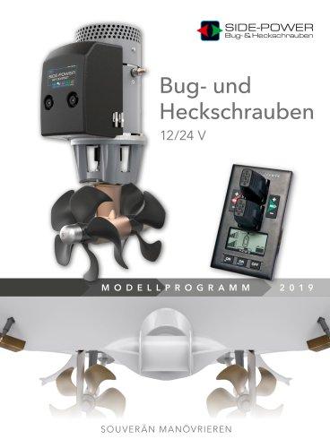 Bug- und Heckschrauben