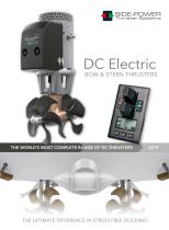 DC Electric BOW & STERN THRUSTERS