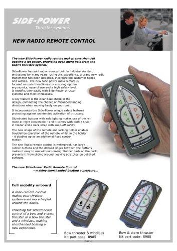 Radio Remote contrlol
