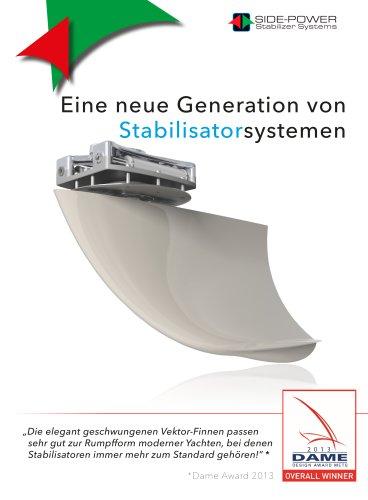 Side-Power Fin Stabilizers