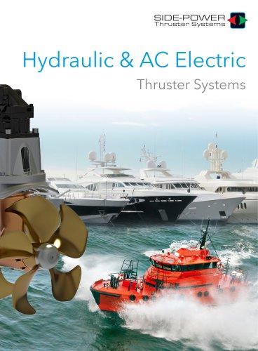 Side-Power Hydraulic & AC Thrusters 2018
