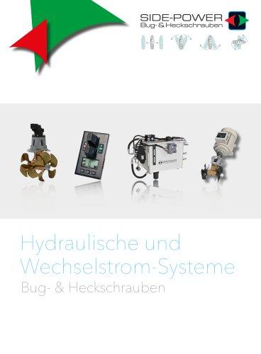 Side-Power Hydraulic & AC Thrusters