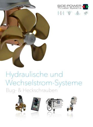 Side-Power Hydraulic & AC Thrusters Brochure 2017