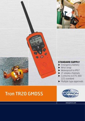 Brochure Tron TR20 GMDSS