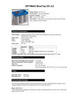 OPTIMA BLUETOP DC 4,2