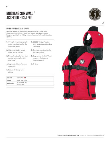 ACCEL100 FISHING VEST