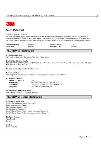 3M Marine Grade Silicone Sealant White 08017