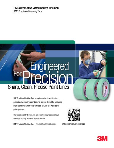Engineered ForPrecision Sharp, Clean, Precise Paint Lines