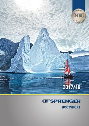 SPRENGER Bootsport Katalog 2017/18