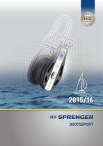 SPRENGER Bootssport 2015/16