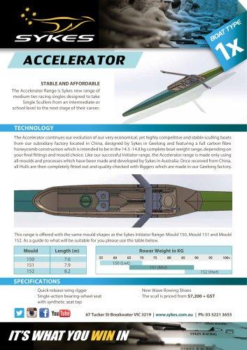 Accelerator Range