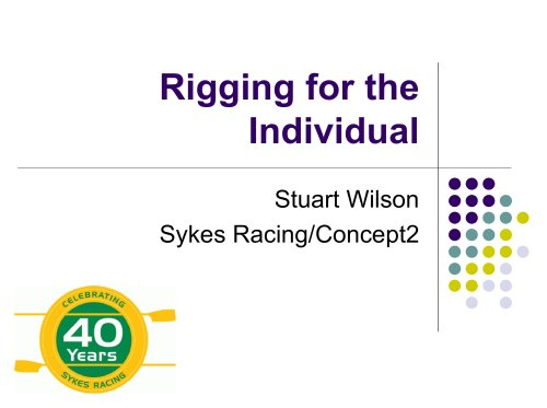 Rigging for the Individual - Presentation