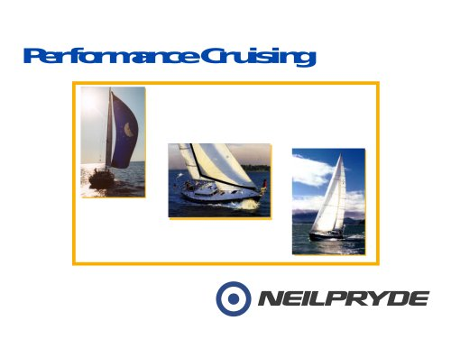 PERFORMANCE CRUISING SAILS OVERVIEW