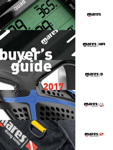 DIVING BUYER'S GUIDE 2017